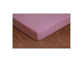 Nadia Prostěradlo bavlněné růžové 120x60