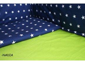 Darland Prostěradlo bavlněné zelené 120x60