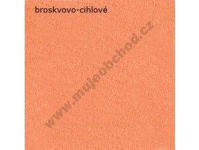 Darland Prostěradlo froté broskvovo-cihlové 140x70