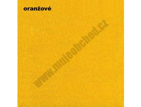 Darland Prostěradlo froté oranžové 140x70