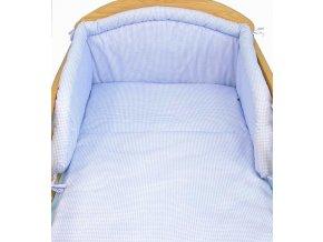 Přebalovací podložka kostička modrá
