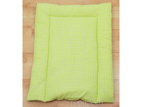 Přebalovací podložka kostička zelená