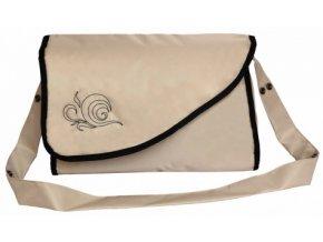 Přebalovací taška Kate s kapsami béžová Emitex