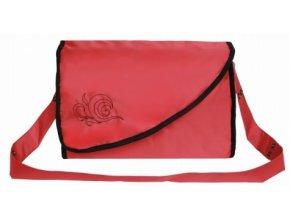 Přebalovací taška Kate s kapsami červená Emitex