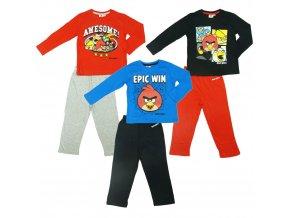 Pyžamo Angry Birds dlouhý rukáv modré 10let (140)
