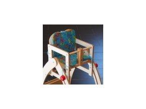Textilní vložka do jídelní židličky modrá