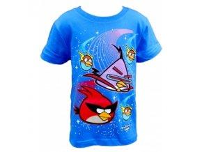 Tričko Angry Birds krátký rukáv modré new vel.104