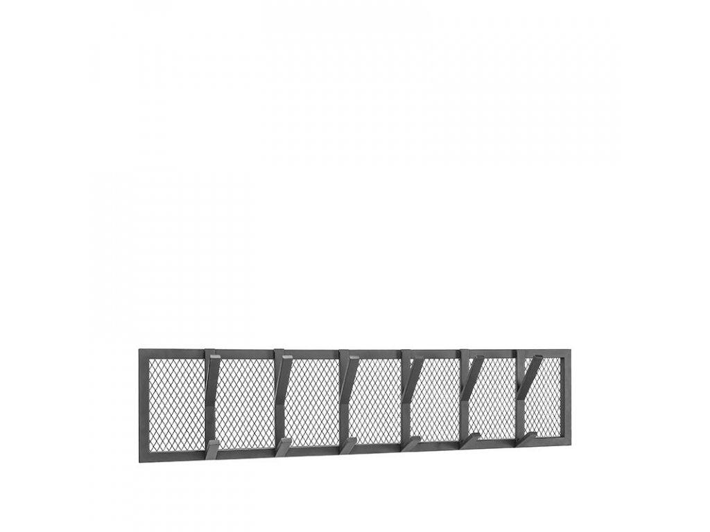 Černý kovový věšák Joes XL