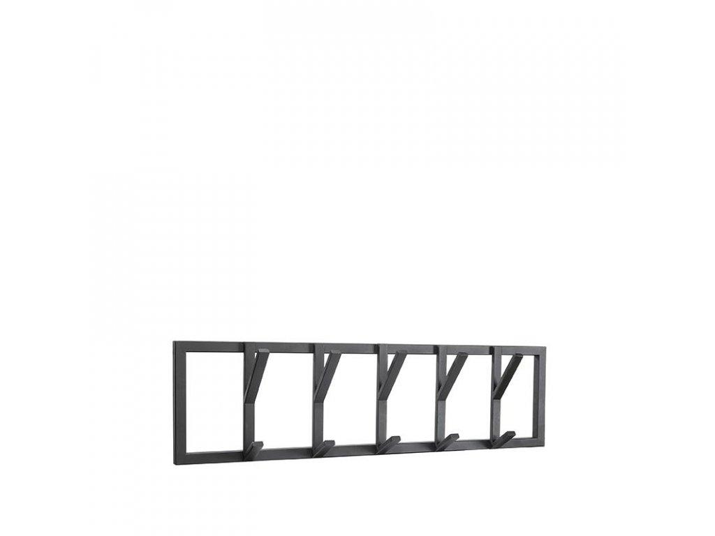 Černý kovový věšák Cryff L