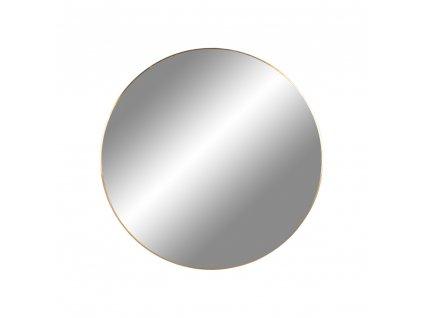 Mosazné nástěnné zrcadlo Jarrko 40 cm