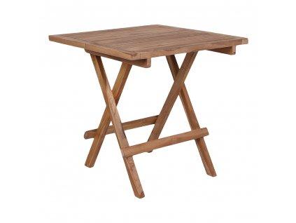 Zahradní stolek Bilke z teakového dřeva