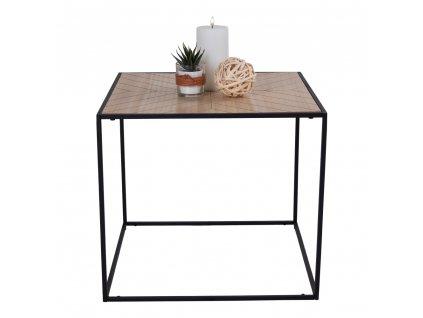 Čtvercový odkládací stolek Berka