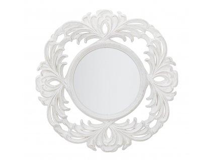 Bílé nástěnné zrcadlo Mauro FerrettiLuxio 75 cm