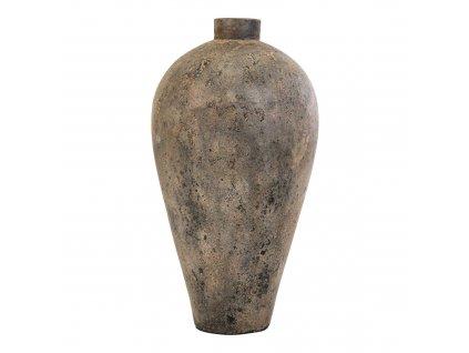 Masivní terakotová váza Garde Big, 40x40x80 cm