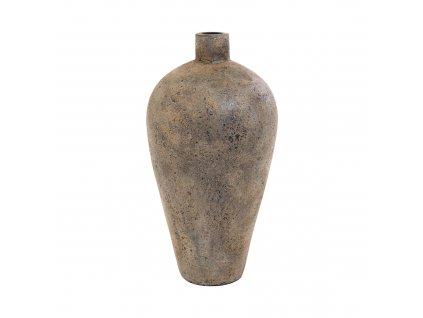 Masivní terakotová váza Garde, 32x32x60 cm