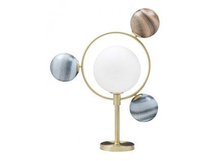 Vícebarevná stolní lampa Mauro Ferretti Planets, 54x22x74 cm
