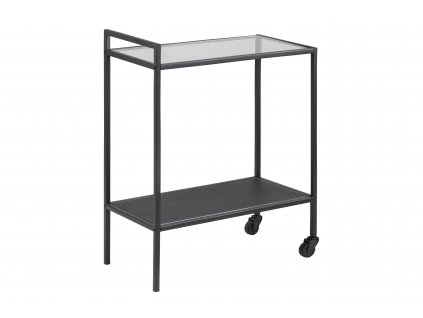 pic serv12 PhotoManagerPublicMasters Products 0000072130 seaford tray table w wheels glass top black metal 60x30xh75