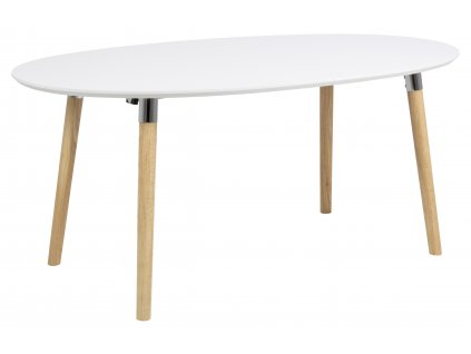 pic serv12 PhotoManagerPublicMasters Products H000013704 belina dt wooden top lacq white pincon legs solid wood chrome oak look 170 270x100xh74 orig