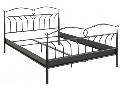 pic serv12 PhotoManagerPublicMasters Products H000020513 line bed 140x200 metal lacquered black extra high siderails for box only orig