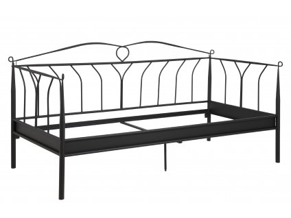 pic serv12 PhotoManagerPublicMasters Products 0000088632 line daybed black metal extra high siderails for box only 200x90