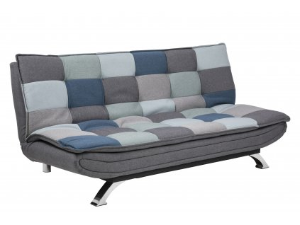 pic serv12 PhotoManagerPublicMasters Products 0000071441 faith sofa bed patchwork grey blue color bottom sawana grey 5 legs chrome