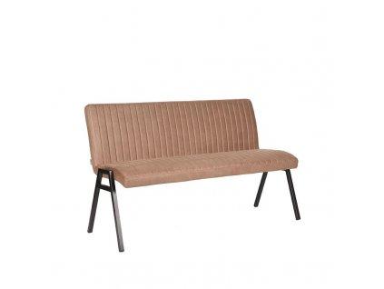 Béžová jídelní lavice Daam, 145 cm