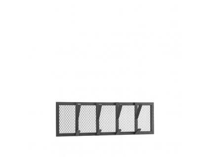 Černý kovový věšák Joes M