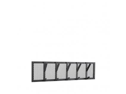 Černý kovový věšák Joes L