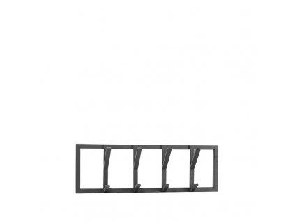 Černý kovový věšák Cryff M