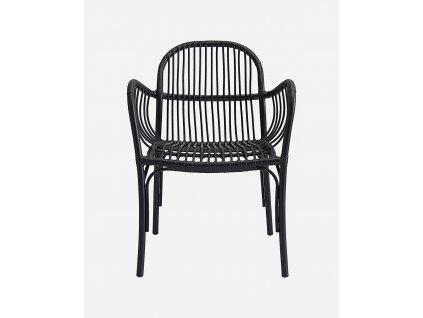 Černá zahradní židle House Doctor Brea