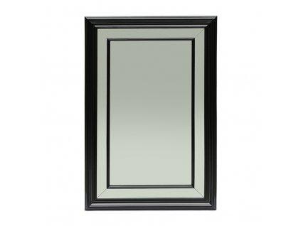 Černé nástěnné zrcadlo Rivièra Maison Heathcote 120x80 cm