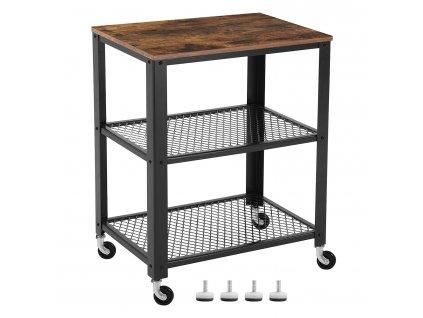 Servírovací stolek Vasagle Ullys, 60x40x76,5 cm