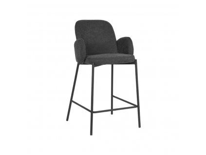 Antracitová barová židle LABEL51 Garip