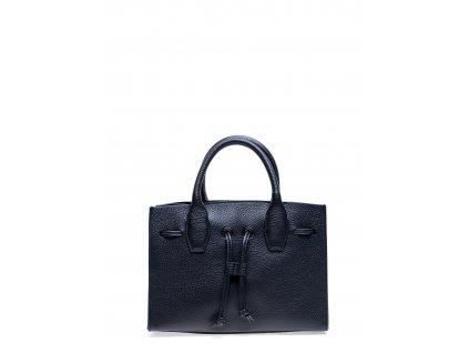 Černá kožená kabelka Roberta M Labbra