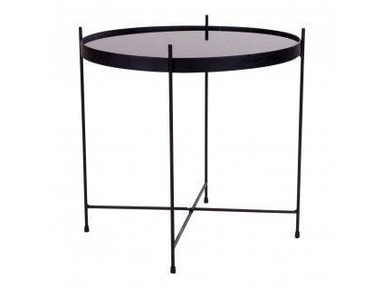 Černý konferenční stolek Mattr 48 cm