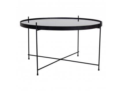 Černý konferenční stolek Mattr 70 cm