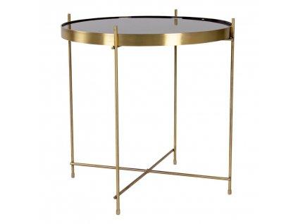 Mosazný konferenční stolek Mattr 48 cm