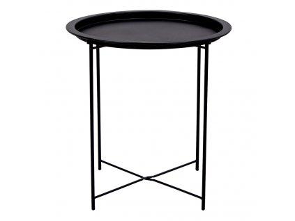 Černý odkládací stolek Bowl