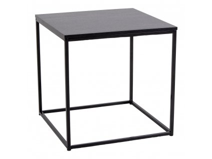 Černý odkládací stolek Energy