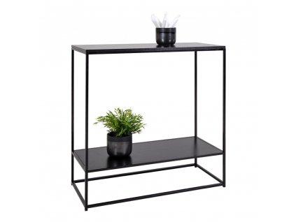 Černý konzolový stolek Energy