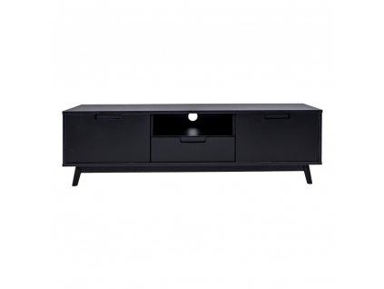 Černý televizní stolek Verida