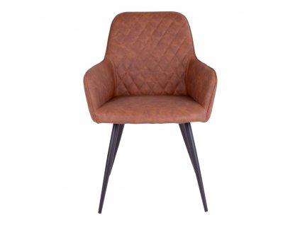 Jídelní židle Harko hnědá vintage
