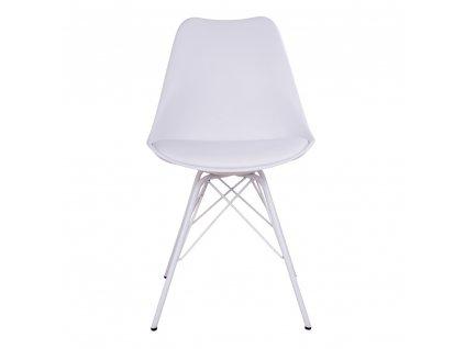Jídelní židle Nora bílá