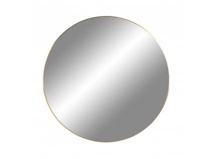 Mosazné nástěnné zrcadlo Jarrko 60 cm