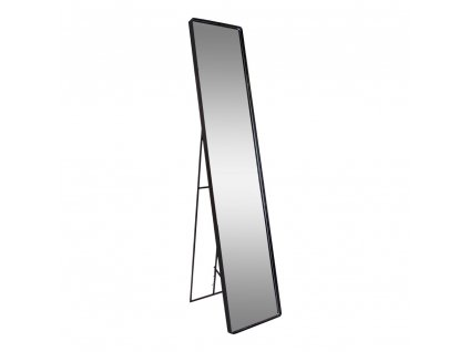 Černé stojací zrcadlo Aman