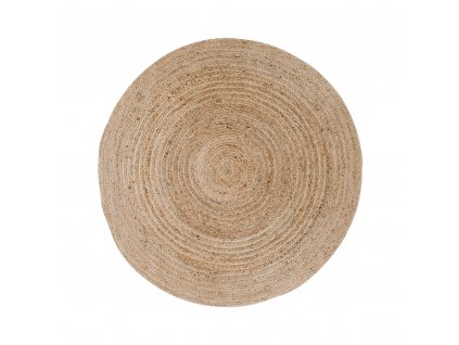Kulatý koberec Ramiko z juty 90 cm