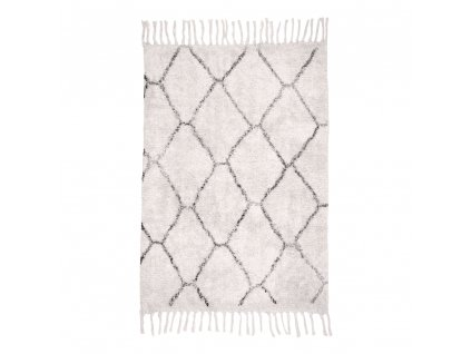 Koberec Gira ze 100% přírodní bavlny 90x60 cm