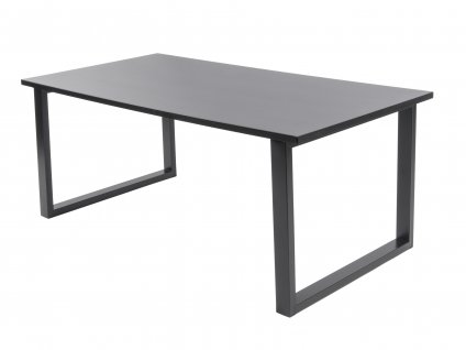 Černý konferenční stolek Glato