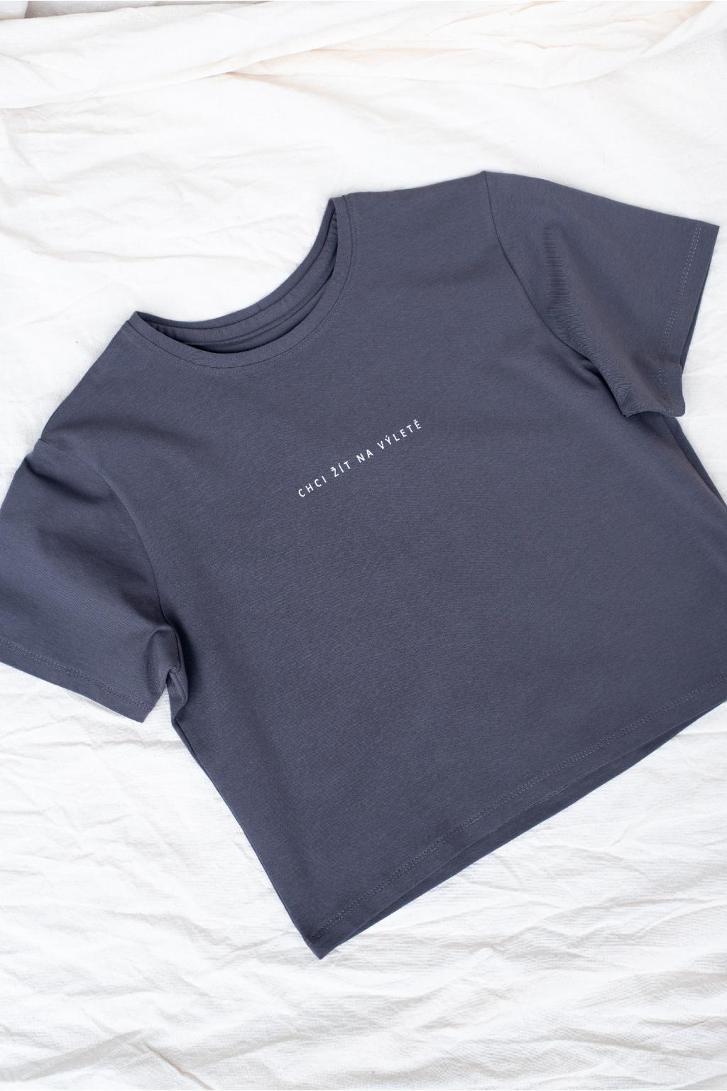 Tričko KOUSEK Chci žít na výletě