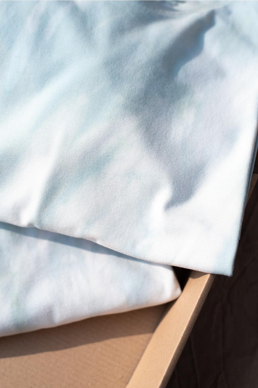 KOUSEK batikované tričko biobavlna